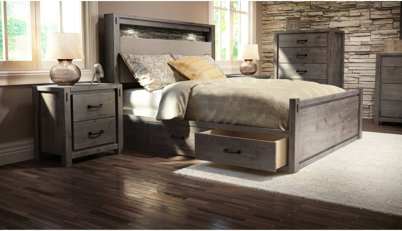 Charming Defehr 697 Bedroom Collection