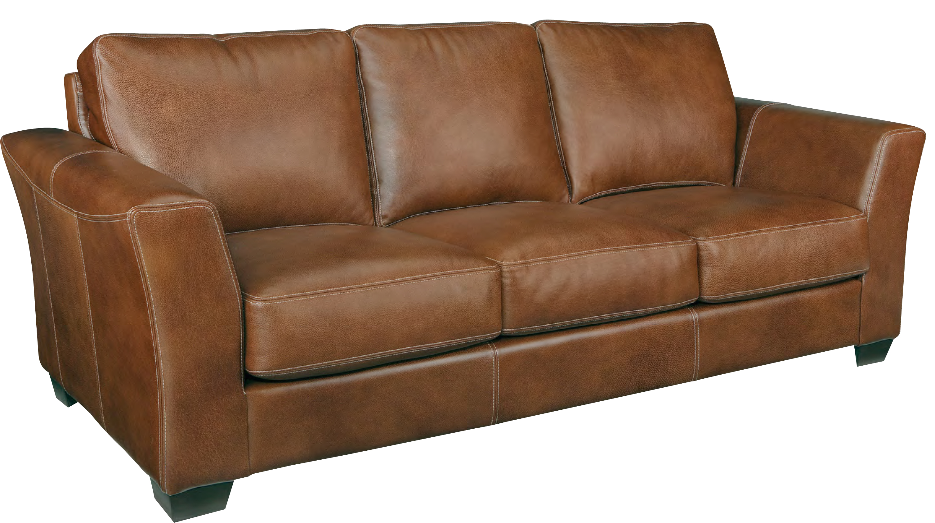 Leather Craft Bayview Stationary Sofa
