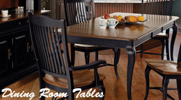 bothwell furniture's dining room tables, solid wood tables, kitchen tables, dining room tables, Canadel furniture