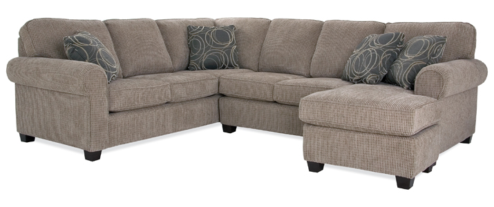 Decor Rest 2576 Stationary Sectional