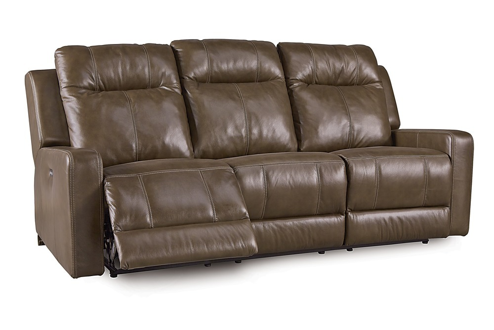 Riley Power Reclining Sofa With Power Headrest Support By Palliser Furniture